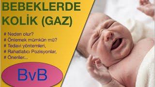 Bebeklerde GAZ SANCISI (Kolik) (Nasıl Önlenir ,Nasıl Tedavi Edilir, Görsel Anlatım)