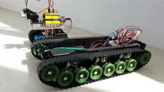 обзор танка на Arduino