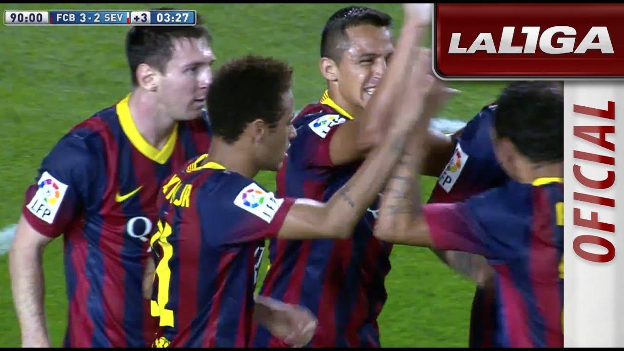 Gol de Alexis (3-2) en el FC Barcelona - Sevilla FC - HD - YouTube 6e11d6908aa6b