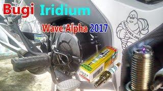 Những điều cần biết khi thay Bugi Iridium cho Wave Alpha 2017