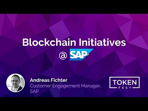 Andreas Fichter - Blockchain Initiatives