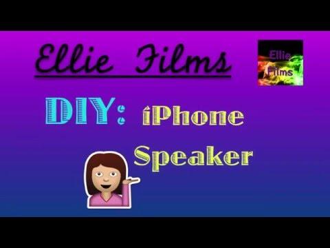 DIY iPhone Speaker!