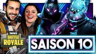 SAISON 10 FORTNITE: ON BUY THE SAISON COMBAT PAS 10! FORTNITE DUO EN