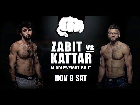 Магомедшарипов Vs Кэлвин Каттар Полный Бой 9.11.19 UFC Moscow