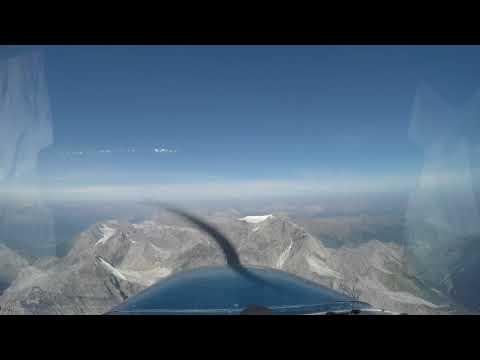 Überflug Ortlergrat links Königspitze 2017 08 30