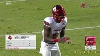 Lamar Jackson vs NC State 2017
