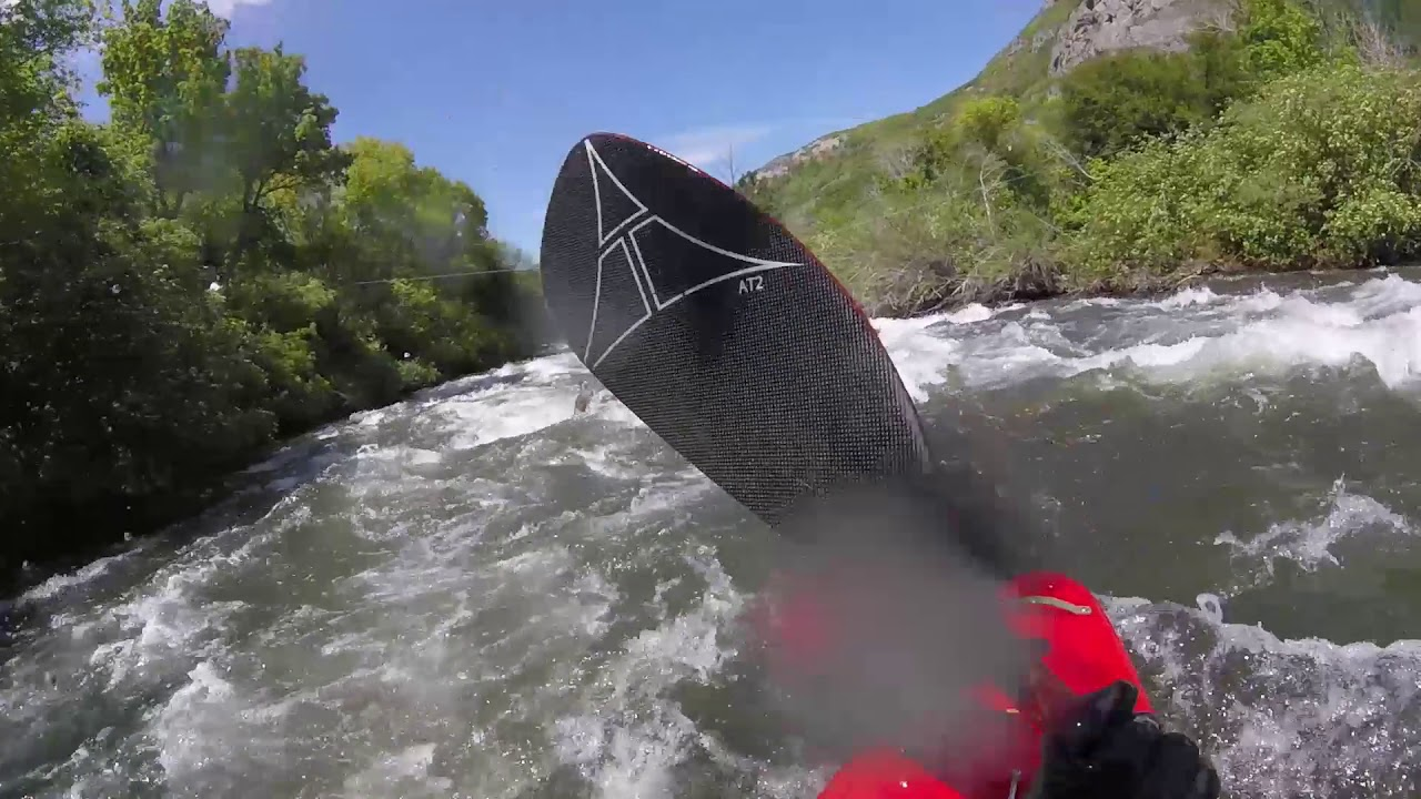 1st Provo River Race - Bridal Veil Slalom Course