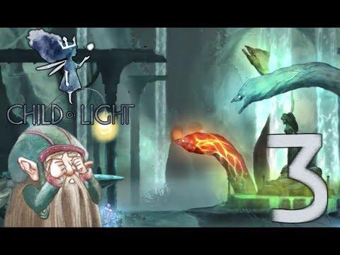 Juegalé!  Child of light ►parte 3 Elemental mi querido Finn...