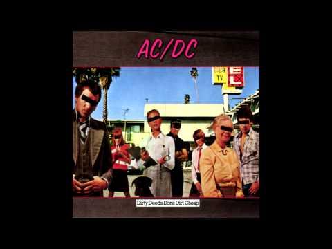 AC/DC - Dirty Deeds Done Dirt Cheap (Lyrics+HQ)