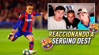 MI PADRE REACCIONA AL NUEVO FICHAJE DEL FC BARCELONA  *una bestia*