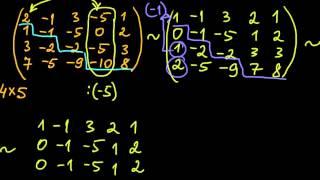 §27 Нахождение ранга матрицы