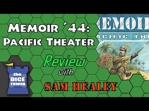 Memoir '44: Pacific Theater Review - with Sam Healey