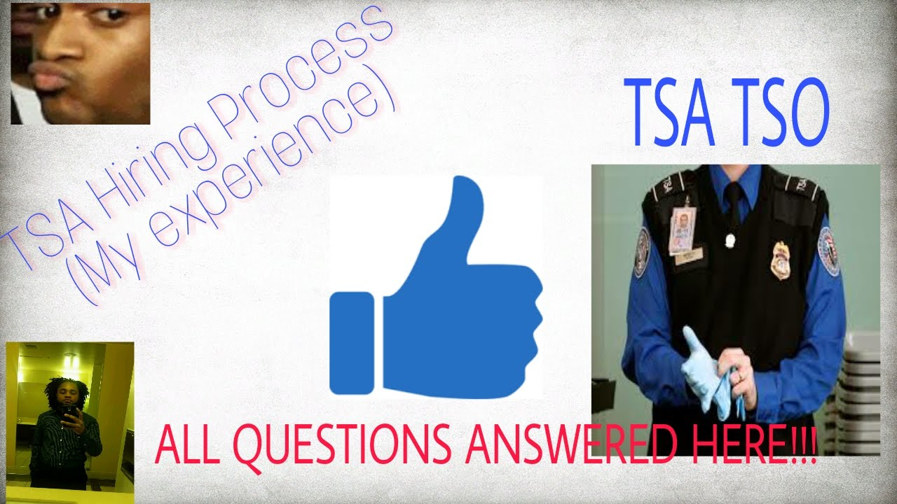 TSA Hiring Process | TSA Exam | CBT (Computer Based Test) - YouTube