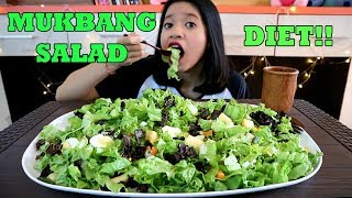 MUKBANG SALAD SAYUR (VEGETABLE SALAD) || MUKBANG INDONESIA