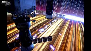 Star Trails  Time lapse Images Captured from the International Space Station NASA