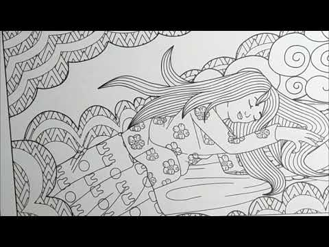 Unboxing Lavender Aromatherapy Coloring Pages for Adults
