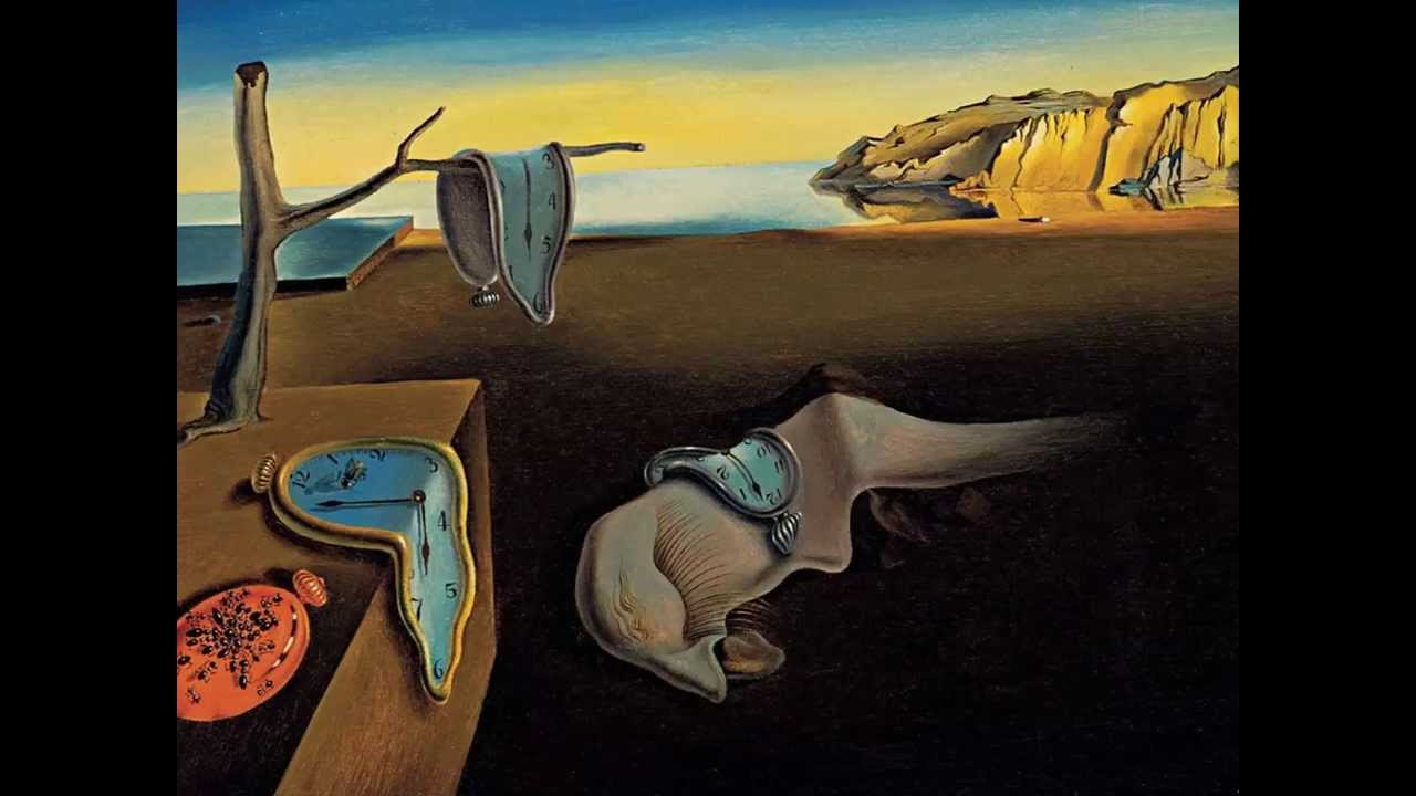 لوحات سلفادور دالي (الرسام رسومات الفنان ويكيبيديا اعمال اقوال حياة صور  متحف المدرسة السيريالية) - YouTube