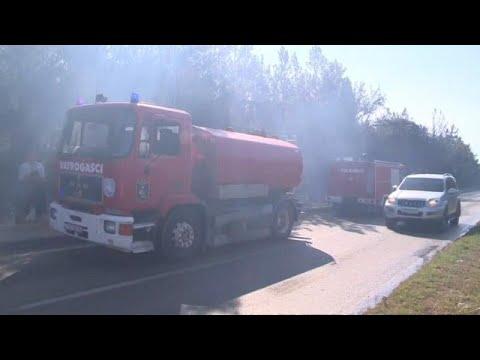 شاهد: النيران تلتهم غابة في كرواتيا بالقرب من موقع مهرجان للموسيقى…  - نشر قبل 9 ساعة