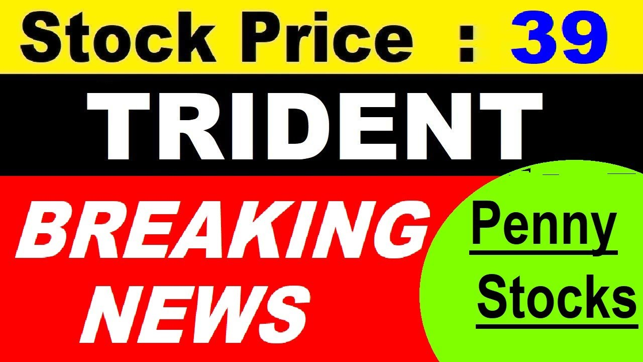 TRIDENT STOCK SOLAR POWER BREAKING NEWS   सिर्फ Rs 39 का Penny Stock   DIVIDEND   RESULT   SMKC