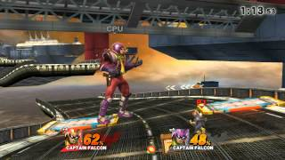 Captain Falcon vs. Blood Falcon