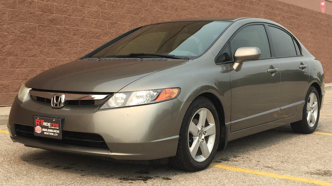 2006 Honda Civic LX Sedan - Manual, Alloy Wheels | AMAZING VALUE - YouTube