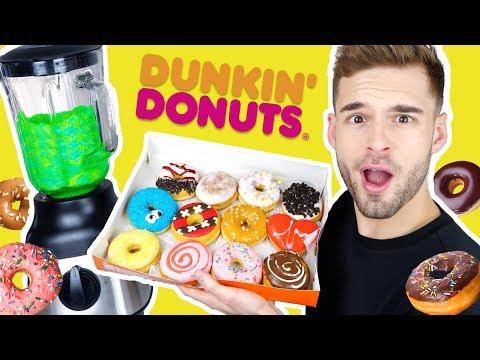 ALLE DUNKIN DONUTS MIXEN EN ETEN! | Alles of Mix