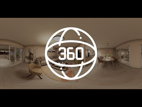 360 Grad Panorama Wohnzimmer | Interaktive 3D-Visualisierung | Virtueller Rundgang | VR Virtual Tour