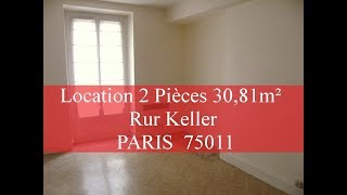 Appartement Location  2 pieces Bastille 75011, Ack feeling *42* Mp3