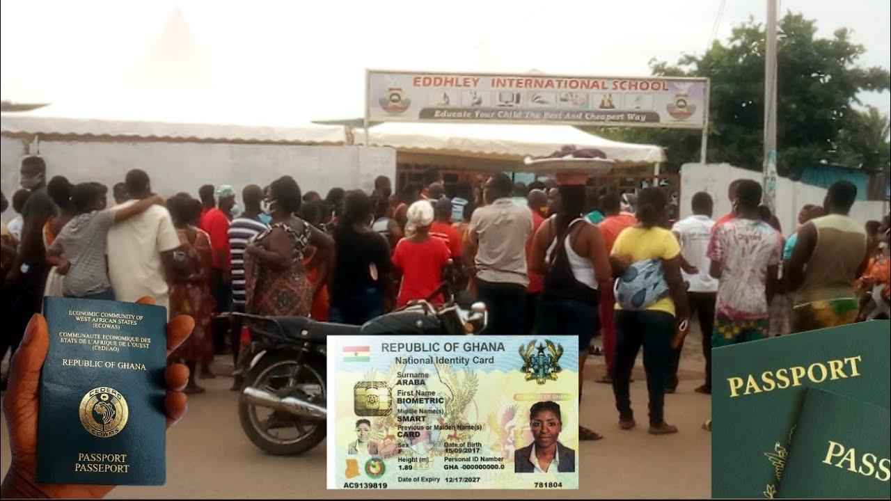 Voter's ID Card Wahala - Covid 19 No Social Distancing