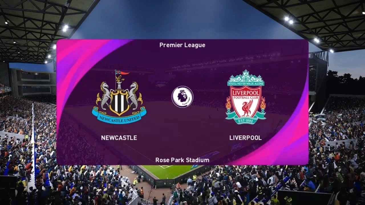 Newcastle United VS Liverpool - Premier League Match Prediction Gameplay -  YouTube