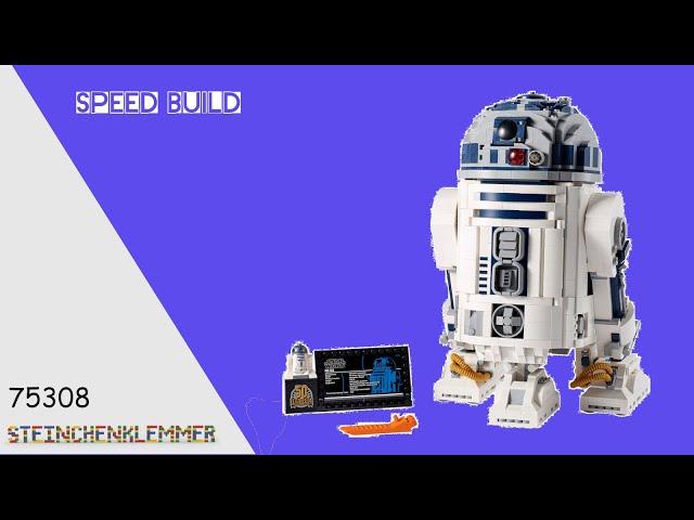 75308 R2-D2™ | Speed Build