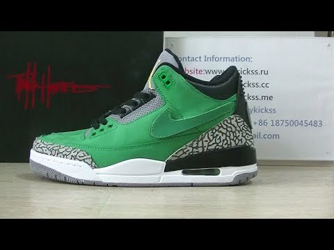 6fcb0dd8e7dd Early Look Air Jordan 3 Oregon Ducks Tinker Hatfield PE Review - YouTube