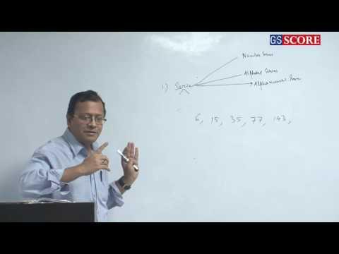 CSAT for IAS Prelims Class 7 of 9  General Mental Ability by Mr. Deepak kumar Mishra - Trent-ed