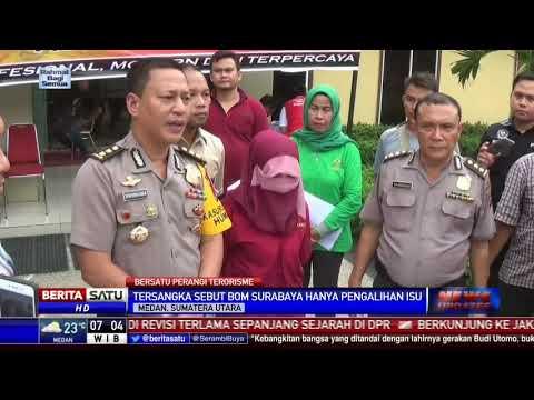 Dosen Wanita di Medan Sebut Bom Surabaya Pengalihan Isu