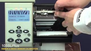 Gambar cover Zebra - 105SLPlus: Ribbon & Media Sensor Calibration