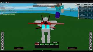 Roblox Build and Destroy EP5: Roblox VS Minecraft batalha Mech!