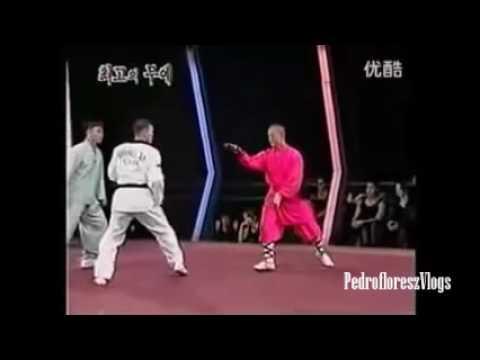 maestro taekwondo vs monje shaolin