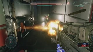 Airborne Ricochet Snipe Off Floor - Halo 5 Beta