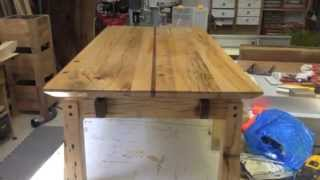 How To Make A Coffee Table From Salvaged Wood