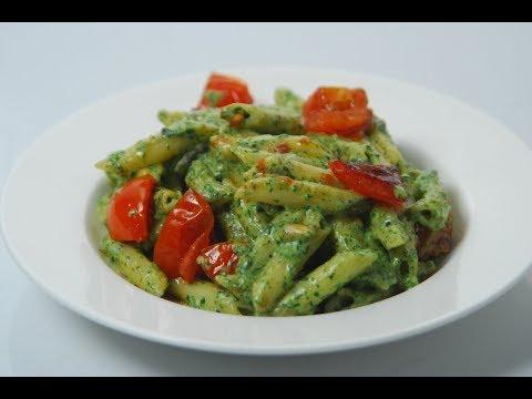 Penne With Spinach Pesto | Cooksmart | Sanjeev Kapoor Khazana