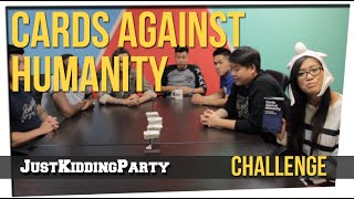 Cards Against Humanity ft. David So