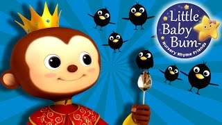 Sing a Song of Sixpence | Nursery Rhymes | By LittleBabyBum