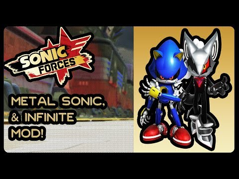 Sonic Forces (PC) - Metal Sonic & Infinite Mod! (4K/60fps) #theyfistbumpeandfaceoffagainsteachother