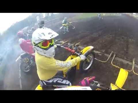 Midwest VMX Motorsports Park Byron IL. R.O.C. Practice 1984 SUZUKI RM125 24th September 2016