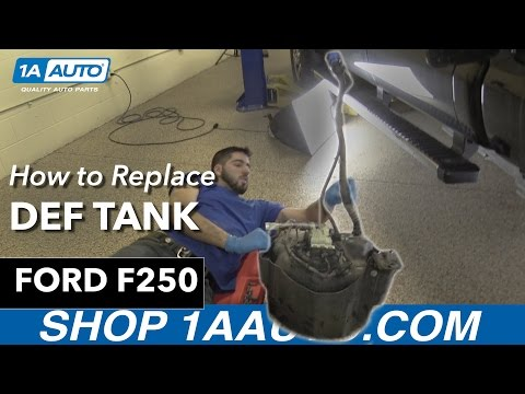 How To Replace DEF Tank 11-16 Ford F250 Diesel