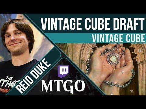 Vintage Cube Draft | Reid Duke