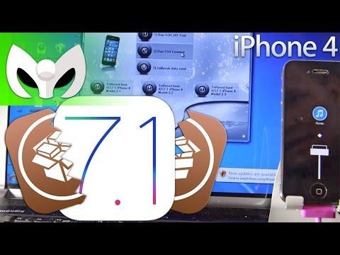 iPhone 4 Jailbreak Tethered iOS 7.1 (Tuto o no? Frustración Personal)