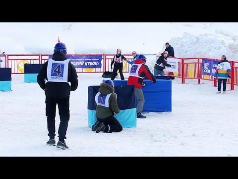 شاهد: مباريات حامية لـ-كرة الثلج- اليابانية في الدائرة القطبية الروسية…  - 23:58-2020 / 2 / 17