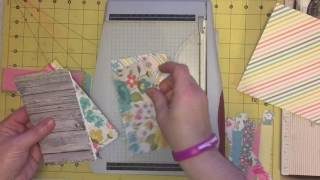 Stacy's Simple 6x6 Paper Pad Tutorial