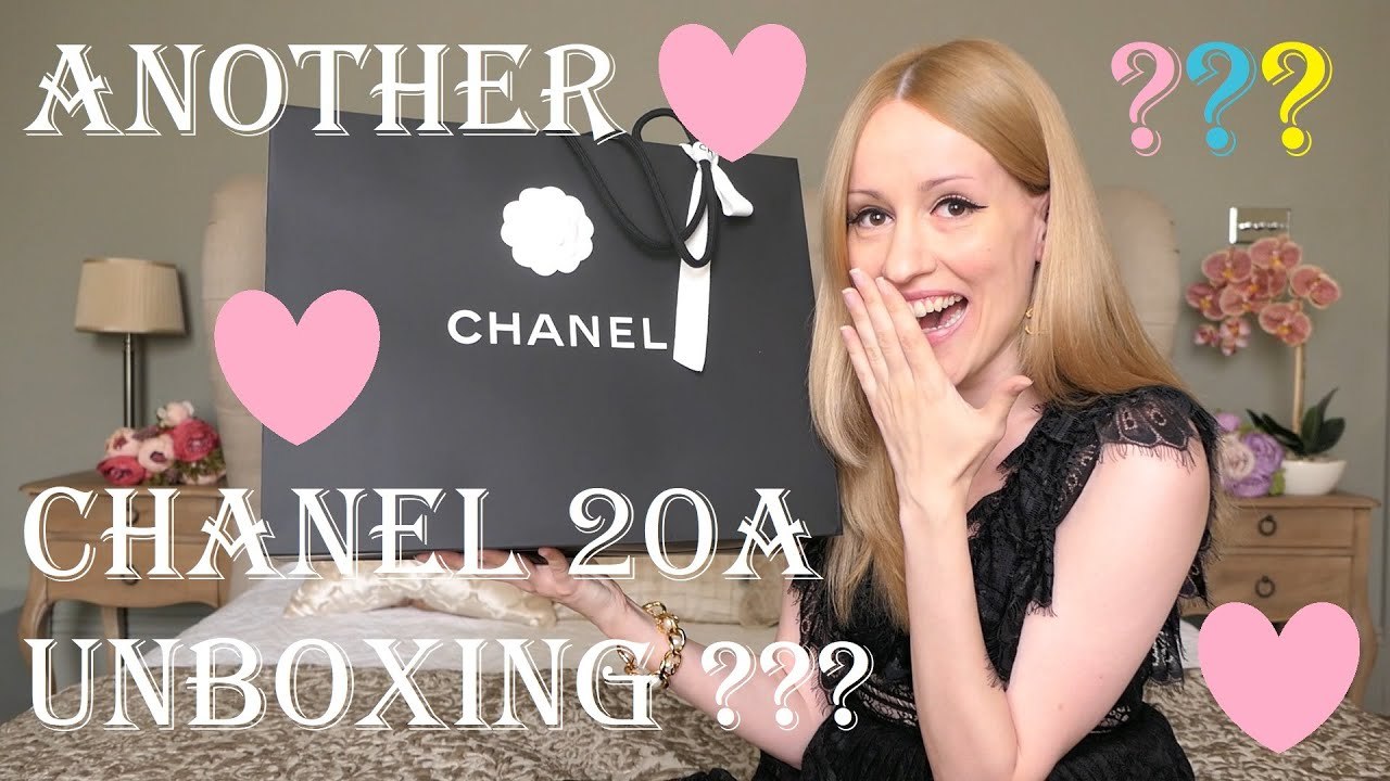 Chanel Bag Unboxing - Chanel Métiers d'Art 2020 Pre-Fall (Chanel 20A Rainbow Reissue)